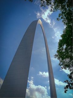 St. Louis Arch. The ride up and down is very claustraphobic but well worth it:)