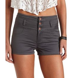 High wasted shorts!