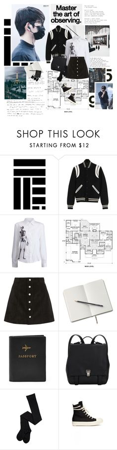 """""""BATTLE GOT7 2.0: FLIGHT LOG — DESTINATION:"""" by followmiiin ❤ liked on Polyvore featuring Yves Saint Laurent, GET LOST, AG Adriano Goldschmied, Nikon, Proenza Schouler and DRKSHDW"""