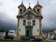 Mariana, MG - Brasil Igreja Nsa. Sra. do Carmo