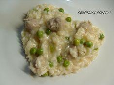 Il risotto con salsiccia e piselli è un primo semplice e saporito che a casa mia piace tantissimo , ecco la ricetta :