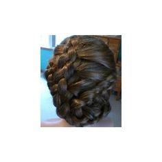 HOW-TO Facebook French Braid Twist ❤ liked on Polyvore featuring hair