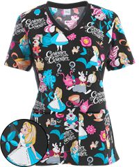 Print Scrub Tops for Women: Large Selection and Discount Pricing by UA                                                                                                                                                                                 More