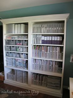 Craft storage ideas by velma