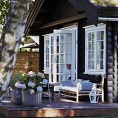 24 Amazing Scandinavian Porch Designs : 24 Amazing Scandinavian Porch Designs With White Door Window And Wooden Table Chair And Wooden Floor...