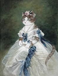 Artwork by Susan Herbert. #cats #art #cute