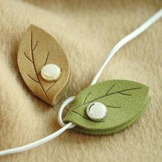 Leaf Earphone Winder from #YesStyle <3 iswas YesStyle.co.uk