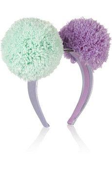 9c021a8cf68 Piers Atkinson Pompom headband