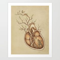 Tree of Life Art Print by Enkel Dika. Worldwide shipping available at Society6.com. Just one of millions of high quality products available.