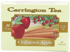 Carrington Tea Cinnamon Apple 20 Tea Bags Pack of 6 *** Be sure to check out this awesome product.