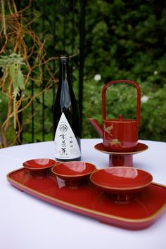 sake ceremony, Japanese tradition wedding, Franciscan Gardens, George Street Photography, www.agoodaffair.com