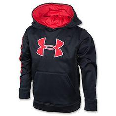 Black red hoodie Under Armour Sweatshirts 76c6142fd