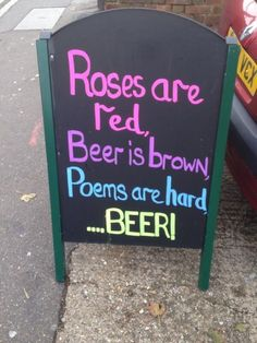28 Humorous Pub Signs That Make You Want A Drink #beerhumor