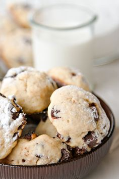 The cookies are a real perfection. Soft, juicy and not to sweet, just as we like them.They are ideal with a glass of milk or a tea. #cookies