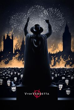 V for Vendetta by Marko Manev