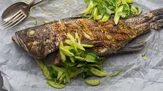 whole fish grilling