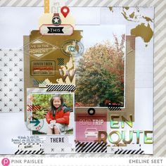 Emeline. Atlas Collection by Pink Paislee's
