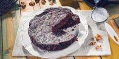 Negresa cu dulceata de visine si nuci Crockpot, Vitamins, Recipies, Good Food, Pudding, Desserts, Recipes, Tailgate Desserts, Deserts