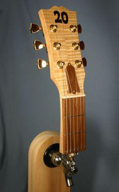 Guitar Headstock Tap Handle