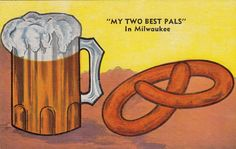 German influenced Graphic from Old Milwaukee, Wisconsin.