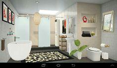3D interior design #homestyler bathroom