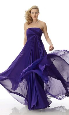 Violet Colored Wedding Dresses - http://casualweddingdresses.net/colored-wedding-dresses-for-colorful-and-fun-personality/