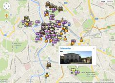 Mapa Interactivo de #Roma con todo lo que hay que ver en una visita a la ciudad eterna http://www.viajararoma.com/mapa-interactivo/ #turismo #viajar #visitar