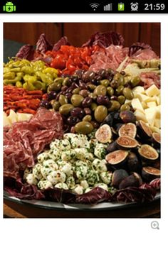 hey mum, check out this antipasto platter!! good old martha!