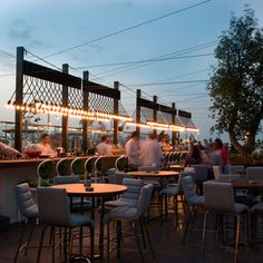 iris - the city's newest rooftop playground