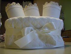 Lavette bagno ~ Lavanda e lillà tutorial cestino con lavette fabric boxes