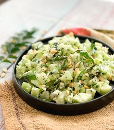 Khamang Kakdi is a delicious Maharashtrian style side dish recipe where cucumber and yogurt is mixed and is tempered with curry leaves, green chillies and mustard seeds. Cucumber is perfect for summer season and you can add it in different salads to include it in your daily diet. Khamang Kakdi is one such Maharashtrian recipe, which is a delicious combination of cucumber and yogurt tempered with curry leaves and green chillies. It is very easy to make and is a perfect side dish to serve…