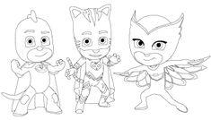 Pj Masks - Heróis de Pijama