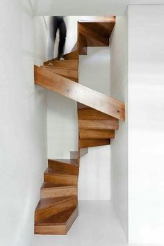 German Staircase // German homes can be multi-level, with stairs leading to different floors of the home. Sometimes, these stairways can be very narrow, making heavy objects like exercise equipment (ex: treadmill) and king size beds a challenge for movers.
