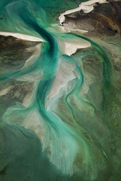 Shark Bay From Above -- Yann Arthus-Bertrand