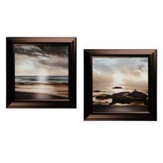 Blue Sea Sunset Framed Art Print | Kirkland's