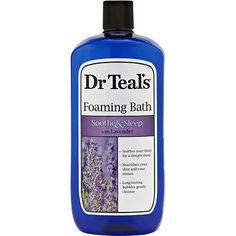 Dr Teal's Foaming Bath with Pure Epsom Salt, Soothe & Sleep with Lavender, 34 Ounces Teal Baths, Volkswagen Routan, Epsom Salt Bath, Best Face Mask, Face Masks, Feet Care, Bath Salts, Bath And Body, Pure Products