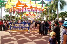 Falun Gong at 2016 Royal Floria Putrajaya in Malaysia