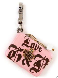 65444ff1b4d Juicy Couture Pink Laptop Charm Juicy Couture Bracelet