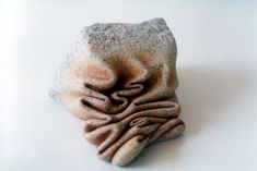 Artist Makes Stone Look Soft By Twisting, Folding And Peeling It