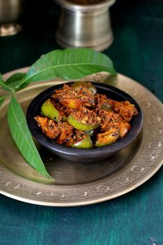 Punjabi mango pickle recipe made with raw mangoes, Indian spices & mustard oil. Tastes best with Indian breads like roti and paratha. Mango Recipes Indian, Indian Food Recipes, Ethnic Recipes, Veg Recipes, Vegetarian Recipes, Cooking Recipes, Recipies, Pickle Mango Recipe, Chutney Recipes