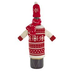 Wine Bottle Christmas Jumper