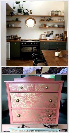 1 x Vintage Ancien Style rétro poitrine meubles Couverture Boîte Pull Poignées
