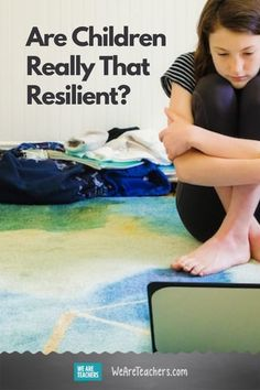 Are Children Really That Resilient? Are children really that resilient? In this time of virtual learning and relationships, teachers need to focus on building resiliency skills. #socialemotionallearning #learningathome #teacherlife #communication