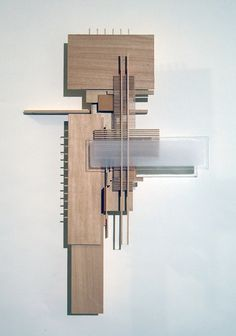 """Items similar to Wall Decoration, Home Decor, Art: Construction 2 (""""Reclining Nude, Standing"""") on Etsy - Home Decoration Wood Sculpture That Hangs on the Wall by Konokopia - Conceptual Model Architecture, Architecture Design, Computer Architecture, Concept Architecture, Wooden Architecture, Landscape Architecture, Arch Model, Wood Sculpture, Sculpture Ideas"""