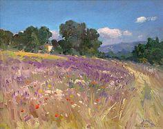 """Floering Meadow Provence"" 24"" x 30"" Ovanes Berberian"