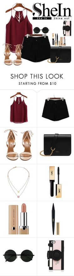 """""""Untitled #422"""" by selenagomezinspire ❤ liked on Polyvore featuring Aquazzura, Mulberry, Michael Kors, Marc Jacobs and Kate Spade"""