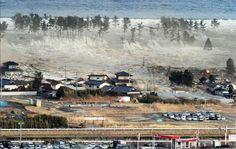 El terremoto y tsunami de Japón del 11 de marzo de 2011 en la  costa del Pacífico en la región de Tōhoku.