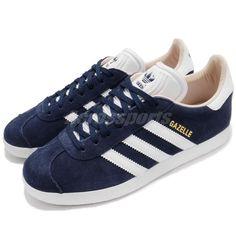 adidas Originals Gazelle W Noble Indigo White Women Shoes Sneakers CQ2187 4eb137bf0