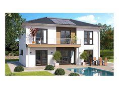 Top Star S 159 - #Einfamilienhaus von Hanlo Haus Vertriebsges. mbH | HausXXL #Fertighaus #Energiesparhaus #Passivhaus #modern #Walmdach