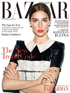 Joséphine Le Tutour, Harper's Bazaar Magazine [South Korea] (September 2015) (2015)